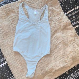 American apparel bodysuit leotard